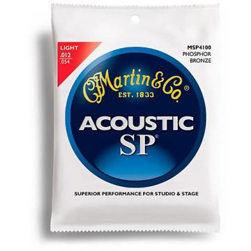 Martin MSP4100 SP Phosphor Bronze Light Acoustic Strings