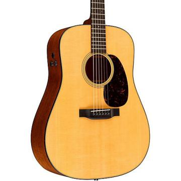 Martin Retro Series D-18E Dreadnought Acoustic-Electric Guitar Natural