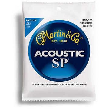 Martin MSP4200 SP Phosphor Bronze Medium Acoustic Guitar Strings