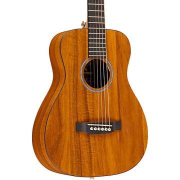 Martin X Series LX Koa Little Martin Left-Handed Acoustic Guitar Natural