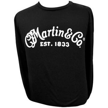 Martin Long Sleeve Signature T-Shirt XX Large Black