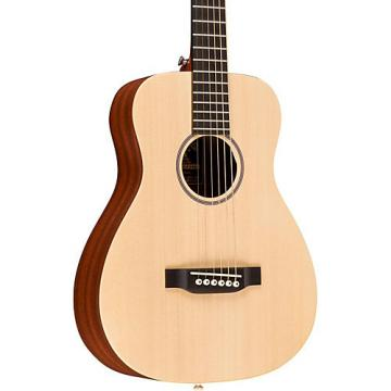 Martin X Series LX1 Little Martin Left-Handed Acoustic Guitar Natural