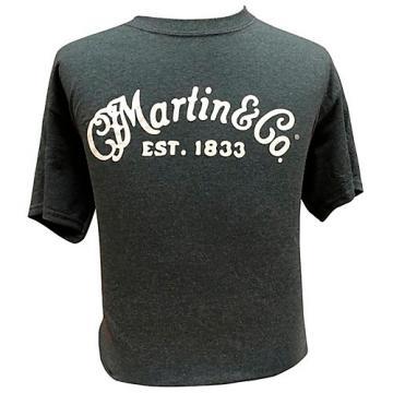 Martin Crushed T-shirt XX Large Black