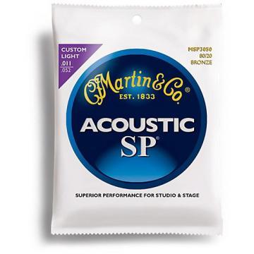 Martin MSP3050 SP 80/20 Bronze Custom Light Acoustic Guitar Strings
