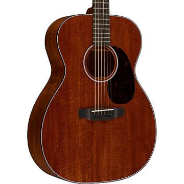 Martin Custom 000-18 Flamed Mahogany Acoustic Guitar Natural