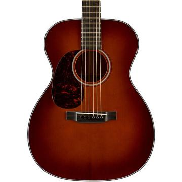Martin Authentic Series 1933 OM-18 VTS Orchestra Model Left-Handed Acoustic Guitar Natural