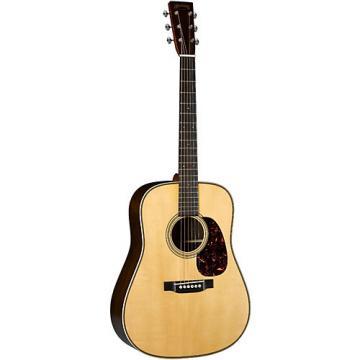 Martin Authentic Series 1937 D-28 VTS Dreadnought Acoustic Guitar Natural