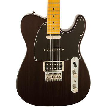 Fender Modern Player Telecaster Plus Electric Guitar Transparent Charcoal Maple Fretboard