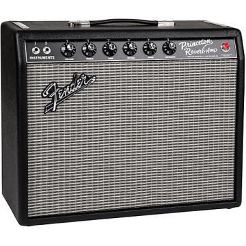 Fender 65 Princeton Reverb 15W 1x10 Tube Guitar Combo Amp Black