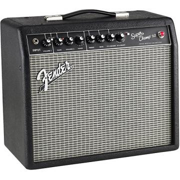 Fender Super-Champ X2 15W 1x10 Tube Guitar Combo Amp Black