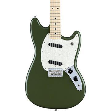 Fender Mustang Maple Fingerboard Olive Green