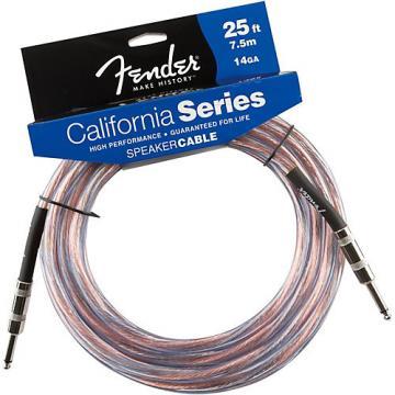 """Fender 14-Gauge 1/4"""" - 1/4"""" Speaker Cable  25 ft."""