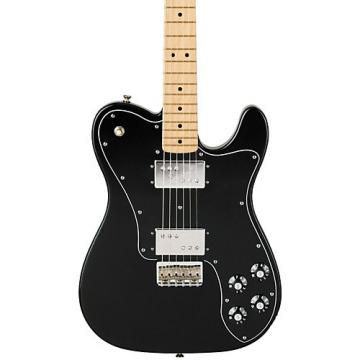 Fender Classic Series '72 Telecaster Deluxe Electric Guitar Black