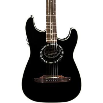Fender Standard Stratacoustic Acoustic-Electric Guitar Black