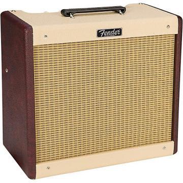 Fender Limited Edition Blues Jr 15W Combo Amplifier Regular Two-Tone Bordeaux Wine/Blonde Two-Tone Wine Blonde
