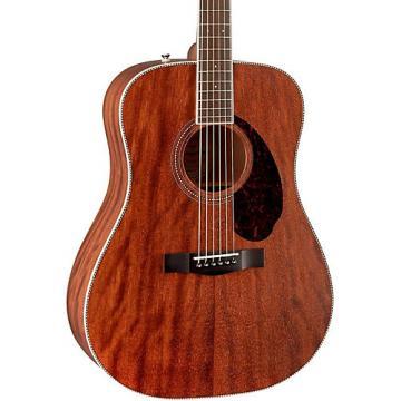 Fender Paramount Series PM-1 Standard All-Mahogany Dreadnought Acoustic Guitar Natural