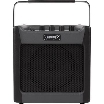 Fender Passport Mini 7W 1x8 Battery Powered Acoustic Guitar Combo with Effects Black