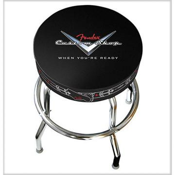 "Fender 24"" Custom Shop Pinstripe Bar Stool"