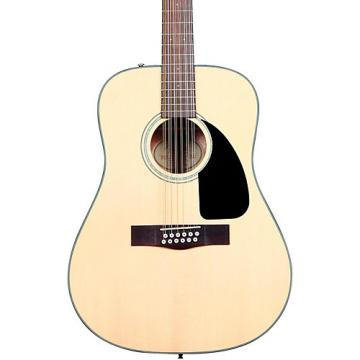 Fender Classic Design Series CD-100-12 Dreadnought 12-String Acoustic Guitar Natural