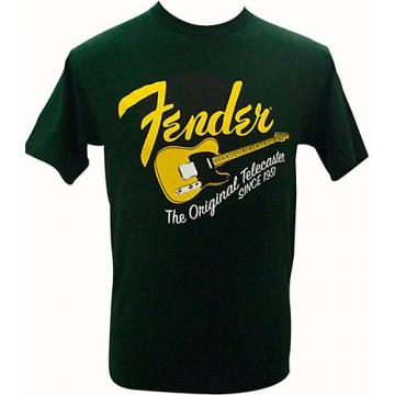 Fender Original Tele T-Shirt Green Medium