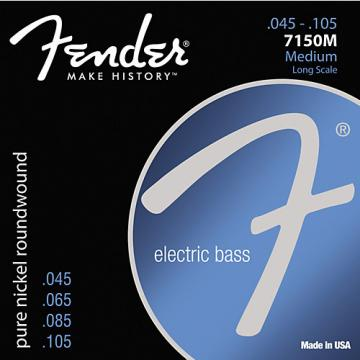 Fender 7150M Pure Nickel Long Scale Bass Strings - Medium