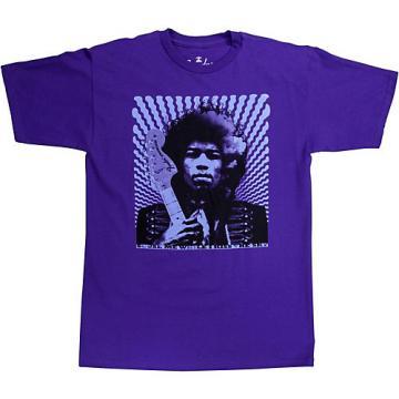 """Fender Jimi Hendrix """"Kiss the Sky"""" T-Shirt Purple X-Large"""