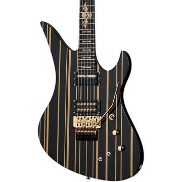 Schecter Guitar Research Synyster Gates Custom S Electric Guitar Black/ Gold