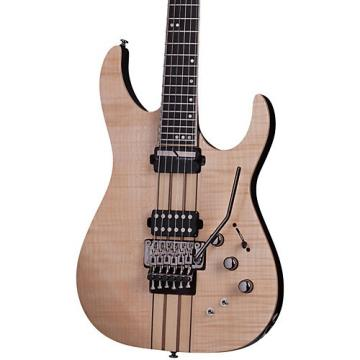 Schecter Guitar Research Banshee Elite-6 with Floyd Rose and Sustainiac Electric Guitar Gloss Natural