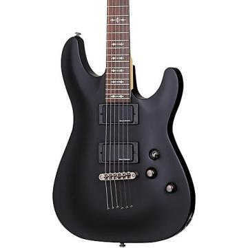 Schecter Guitar Research Demon-6 Electric Guitar Satin Black