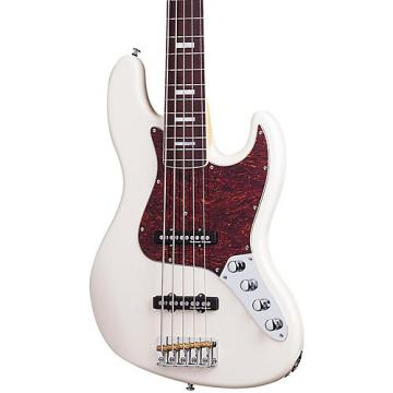Schecter Guitar Research Diamond-J 5 Plus Five-String Electric Bass Guitar Ivory