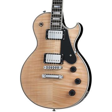Schecter Guitar Research Solo-II Custom Electric Guitar Gloss Natural Top with Black Back