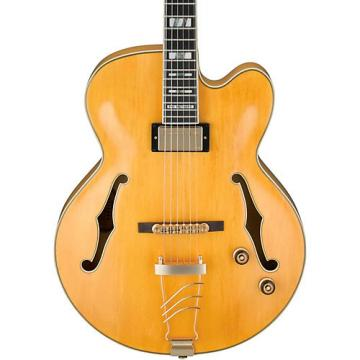 Ibanez PM2 Pat Metheny Signature Hollowbody Electric Guitar - Antique Amber Aged Amber