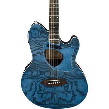 Ibanez Talman Series TCM50DNO Acoustic-Electric Guitar Dark Night Ocean