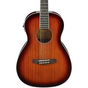 Ibanez PN12E Mahogany Parlor Acoustic-Electric Guitar Vintage Mahogany Sunburst
