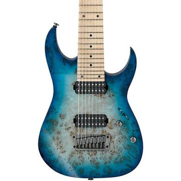 Ibanez Ibanez RG Prestige Series RG852MPB 8-String Electric Guitar Ghost Fleet Blue Burst