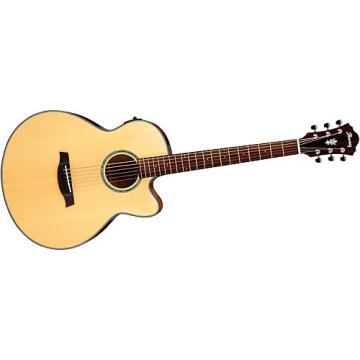 Ibanez AELBT1 Acoustic-Electric Baritone Guitar Natural