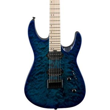Jackson Pro Dinky DK2QM HT Electric Guitar Chlorine Burst
