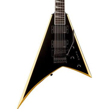 Jackson RRXMG Rhoads Electric Guitar Black with Yellow Bevels Rosewood