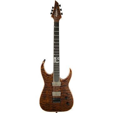 "Jackson USA Signature Model Misha Mansoor Juggernaut ""BULB"" HT6 Electric Guitar Amber Tiger Eye"