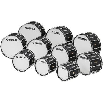 "Yamaha 22"" x 14"" 8300 Series Field-Corps Marching Bass Drum Black Forest"