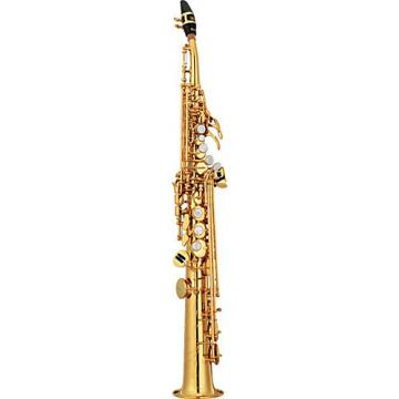 Yamaha Custom YSS-82Z Series Professional Soprano Saxophone with Curved Neck Lacquer