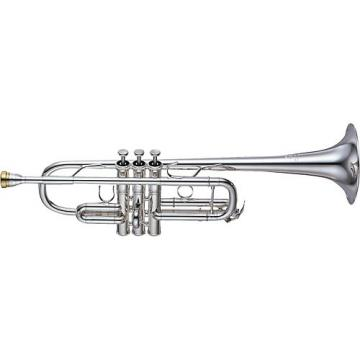 Yamaha YTR-8445 Xeno Series C Trumpet Silver Yellow Brass Bell