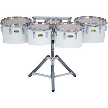 Yamaha 8300 Series Field-Corp Series Marching Tenor Quint 8/10/12/13/14 in. White wrap