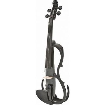 Yamaha SV-150 Silent Practice Violin Black Sparkle Instrument Only