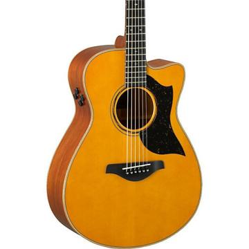 Yamaha A-Series A5M Cutaway Dreadnought Acoustic-Electric Guitar Vintage Natural
