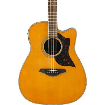 Yamaha A-Series A1R Cutaway Dreadnought Acoustic-Electric Guitar Vintage Natural
