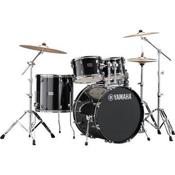 Yamaha Rydeen 5-Piece Shell Pack with 22 in. Bass Drum Black Glitter