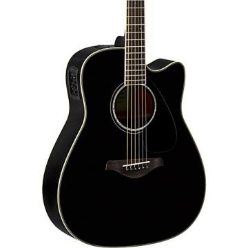 Yamaha FGX830C Folk Acoustic-Electric Guitar Black