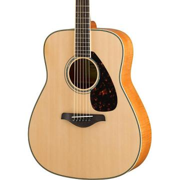 Yamaha FG840 Dreadnought Acoustic Guitar Natural