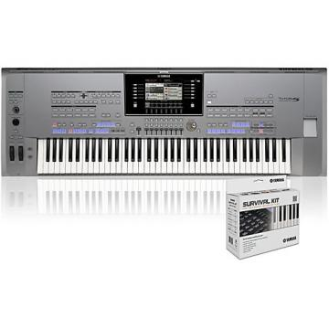 Yamaha Tyros5-76 with SK AW Survival Kit
